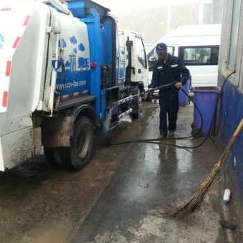 Municipal cleaning
