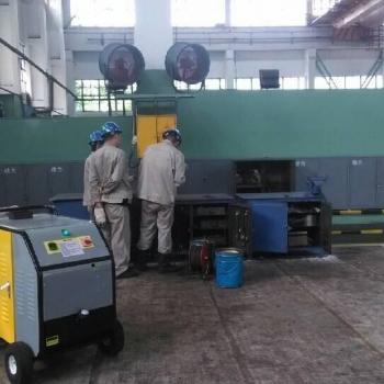 钢铁工厂清洗机械设备油污