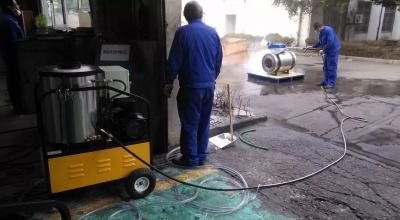 高压清洗机使用时应注意的安全问题