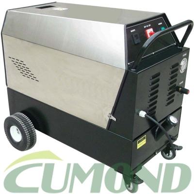 户外冷热水蒸汽高压清洗机 柴油加热高压清洗机 工业油污清洗 CW-DEWS40