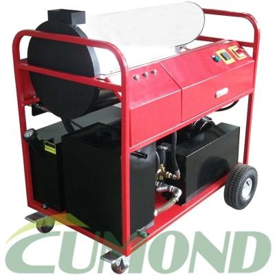 移动式冷热水高压清洗机 电机驱动柴油加热清洗机 CW-DEW3511