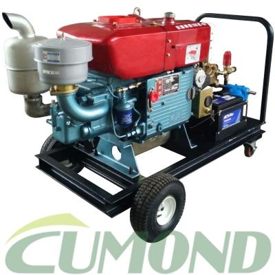 移动式冷水柴油机驱动高压清洗机 CW-DN5030