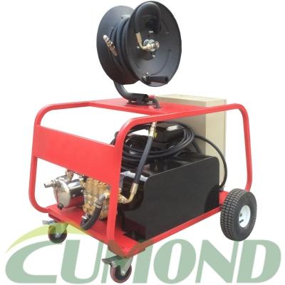移动式电机驱动管道疏通高压冷水清洗机 CW-EN2115