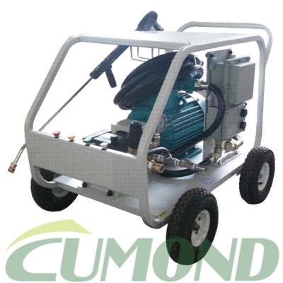 移动式电机驱动防爆高压冷水清洗机 CW-EN3511E