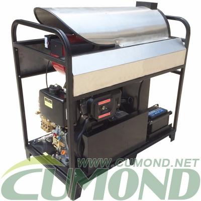 户外蒸汽高压蒸汽清洗机 柴油加热高压清洗机 工业油污清洗 CW-DWS07