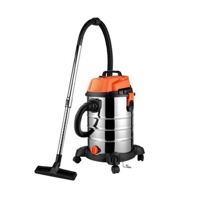 Industrial wet & dry vacuum cleaner with 2 motors